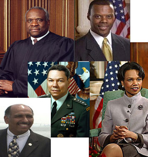 In recent history, it has been the party that chose General Colin Powell, Dr. Condoleezza Rice as Secretary of State, that elected African-American Congressmen from Oklahoma, Florida and Utah, and who even supported Herman Cain, an African American during the 2012 Presidential Primary.