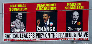 Billboards of President Obama