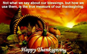 The real meaning of Thanksgiving is a time to celebrate the relationships we nurture all year long.