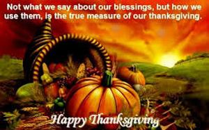 true meaning of thanksgiving essay