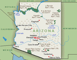 Map Of Arizona Border.Map Of Arizona Border With Mexico Twitterleesclub