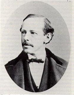 photographic portrait of Horatio Alger