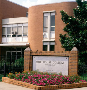 Morehouse College building facade
