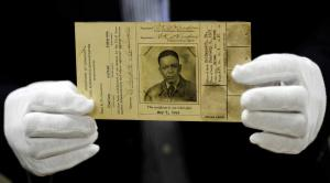 "The Smithsonian Institution holds as part of its collection the 1940s-era pilot's license of C. Alfred ""Chief"" Anderson, the chief flight instructor for the Tuskegee Airmen."