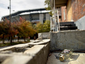 Some suburban fans acknowledge the panhandling, barred windows and vacant lots in the area around Turner Field make them wary. The proposed stadium is near an exhibition center and a mall anchored by giant stores Costco and Sears.