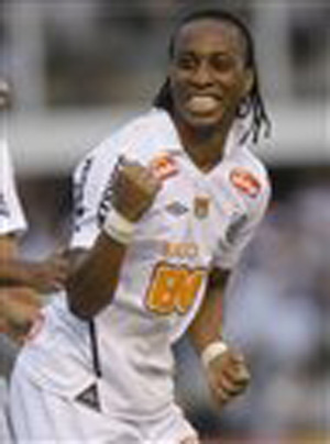 Brazilian midfielder Arouca, playing for Pele's old club Santos, was called monkey and taunted with jeers of