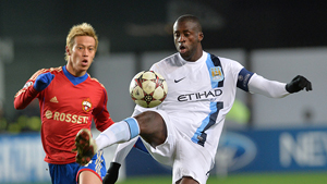 Manchester City midfielder Yaya Toure, who is black and grew up in Ivory Coast, said he was racially abused by opposing fans during a Champions League match at CSKA Moscow.