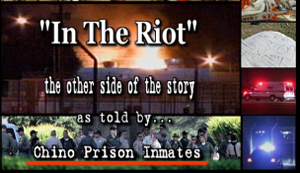It is alleged that prison officials lock down people who were not involved in the riot incident, not involved in the gang but they just happen to have the same color skin.