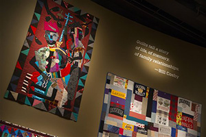 "More than 60 rarely seen African-American artworks from the Cosby collection will join 100 pieces of African art at the National Museum of African Art. The exhibit ""Conversations: African and African American Artworks in Dialogue,"" opens Sunday and will be on view through early 2016."