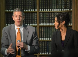 Education Secretary Arne Duncan has acknowledged the challenge is finding the proper balance to keep schools safe and orderly. The federal school discipline recommendations are nonbinding, but encourage schools to ensure that all school personnel are trained in classroom management, conflict resolution and approaches to de-escalate classroom disruptions – and understand that they are responsible for administering routine student discipline instead of security or police officers.