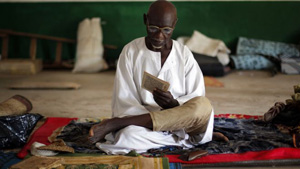 Muslim seek refuge as they await safe passage to Chad and other nearby countries.
