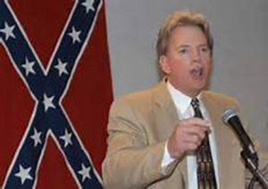 Scalise gave a speech at a 2002 Louisiana convention of the European-American Unity and Rights Organization, which called itself EURO. Former Ku Klux Klan leader David Duke founded the group, which the Southern Poverty Law Center has classified as a hate group.