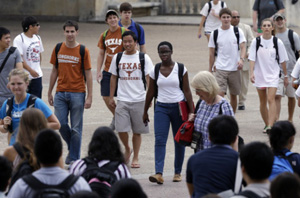 The Supreme Court considered a similar race-based university admissions challenge at the University of Texas earlier this year.