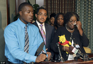 family members of Jonathan Ferrell