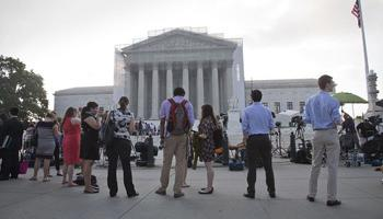 A three-judge federal appeals court heard arguments for a second time in November 2014 week after the U.S. Supreme Court sent the case back for a closer look at the affirmative action case. Court observers believe conservative justices may be ready to reconsider past affirmative action decisions.