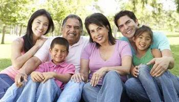 Hispanics in California have a longer history than in other states with multi-generations families.
