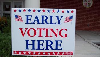 The lawsuit filed in Columbus federal court claims that recent cuts to early voting will make it difficult for tens of thousands of residents to vote and will unfairly affect black voters, who the groups say are more likely to use weekend and evening hours to vote early in elections.