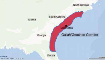 Gullah Geechee Cultural Heritage month is celebrated in the Carolinas, Georgia and Florida.