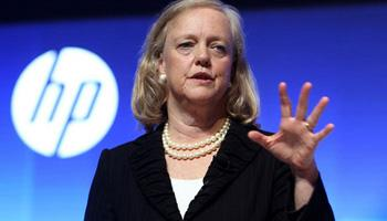 Meg Whitman defended Hewlett-Packard's track record, pointing out that the company has been fighting for racial diversity among its suppliers for more than 40 years.