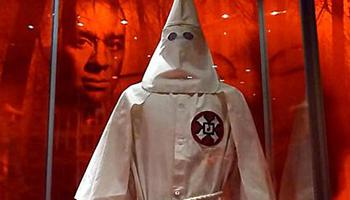 The KKK, a secretive society formed in the post-Civil War South, is known as a white supremacist group who terrorized blacks.