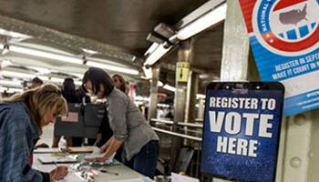 National Latino groups are launching voter registrations drive to increase the Latino vote in the 2014 mid-term elections.
