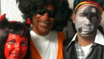 Is it appropriate to dress in blackface costumes for Halloween imitating any racial or ethnic group?