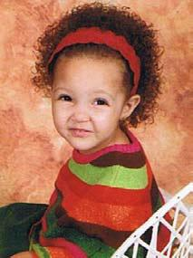 A biracial child