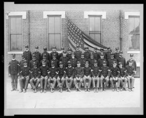 group photo of African American soldiers