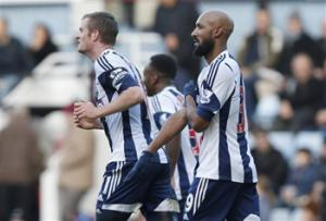 An Anti-Semitic gesture, described as an inverted Nazi salute, was used after a Soccer win by West Bromwich Albion striker Nicolas Anelka.