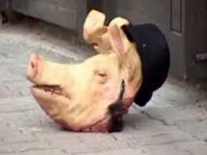 Anti-Semitic acts, including the delivery of packages with pig heads, are occurring in the Jewish community in Rome.
