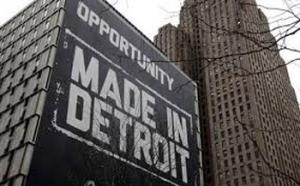 Detroit was once the land of opportunity brought about by a thriving auto industry. Now the city is in economic ruins.