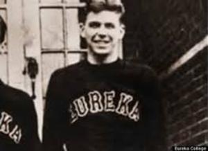 This is Ronald Regan as a college student at Eureka College, where he became a freshman in the fall of 1928.