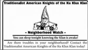 A federal court has ruled that an eastern Missouri town cannot ban the Ku Klux Klan from passing out fliers.