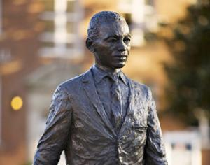 "After the statue commemorating his admission to Ole Miss, James Meredith felt that the act was simply ""foolish""."
