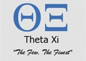 The University of Michigan reprimands Theta Xi, a white fraternity, for using derogatory words for blacks and women in a party advertisement.