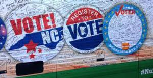 Same-day registration won't be allowed during early voting in North Carolina and Election Day ballots cast in the wrong precinct won't be counted. The decision is a victory for Republican leaders at the General Assembly who passed the law.