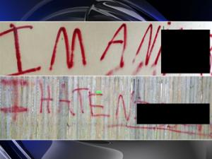 Racial graffiti shows racism is still very much a part of American life.