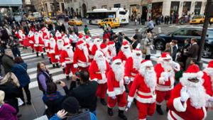 Santa Claus, while originating in the Europe, has emerged to reflect ethnic and racial diversity.