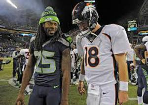 The racial stereotypes between Peyton Manning and Richard Sherman will share the stage with their performance as exceptional pro athletes during the Super Bowl. They have already begun.