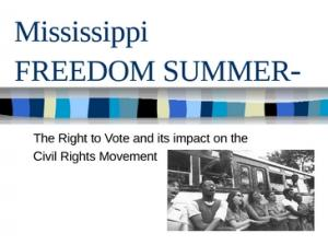 Freedom Summer Graphic